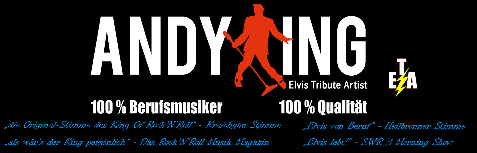 Andy King Elvis Tribute Artist 2018